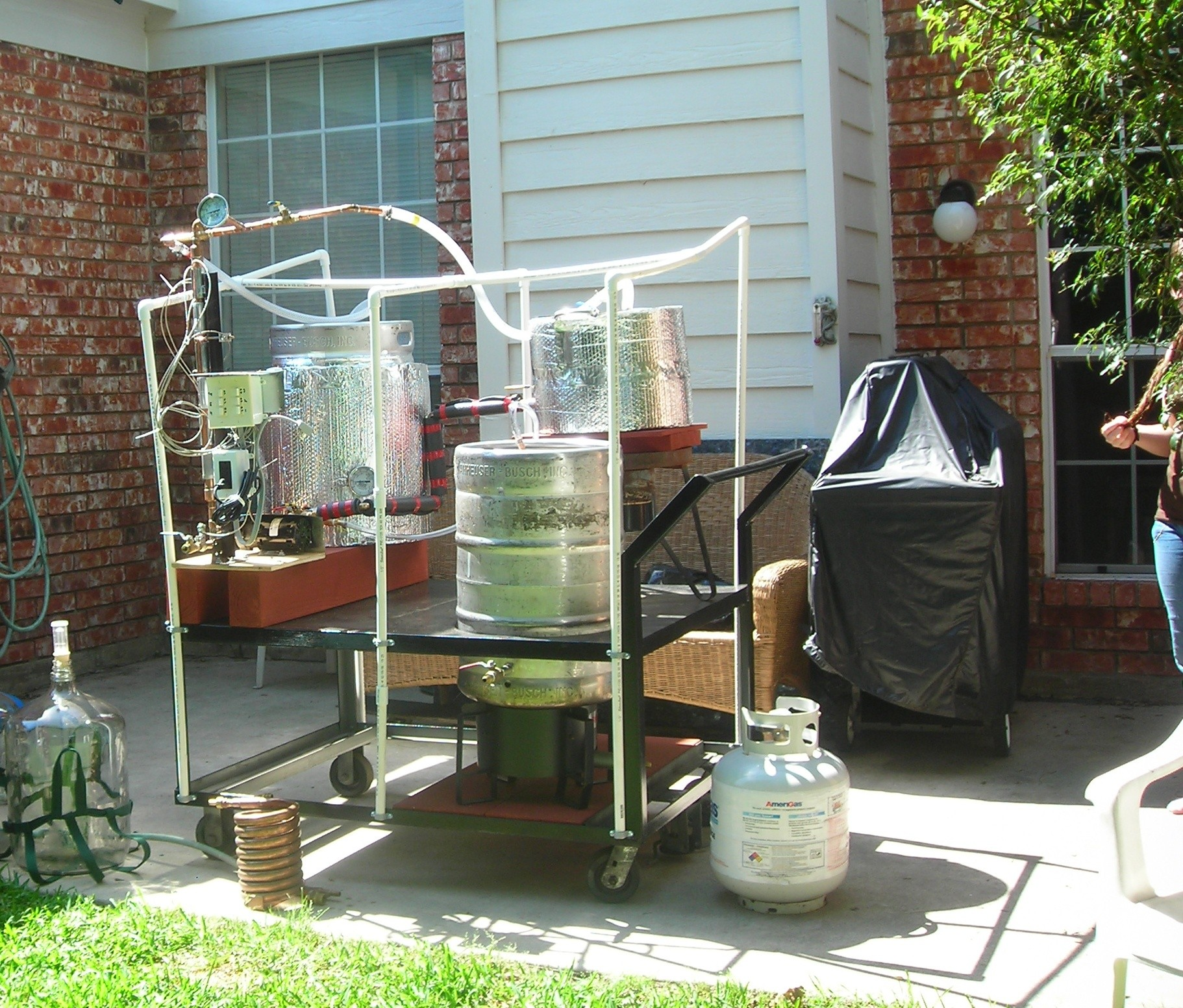 Dave Hill - My Home-Brewery