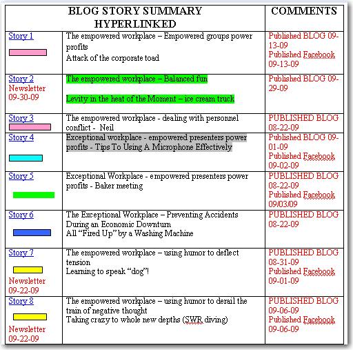 Story List 1